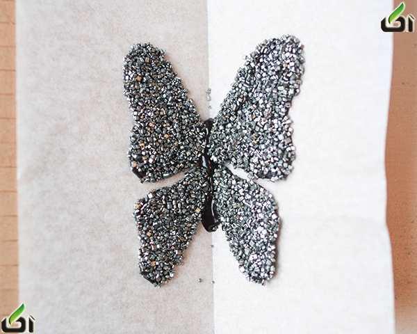 image, آموزش ساخت پروانه ها شکلاتی برای تزیین کیک و شیرینی