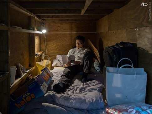 image تصاویر و توضیحات هتل های عجیب و غریب یک نفره در ژاپن