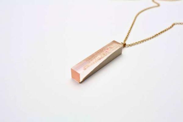 image, تصاویر جواهرات زیبا و شیک ساخته شده با تکه چوب