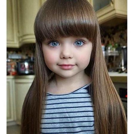 image, عکس دیدنی زیباترین و بامزه ترین دختر بچه دنیا