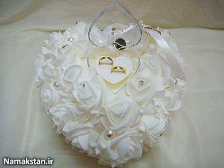 image, مدلهای زیبای تزیینات جای قرارگیری حلقه عروس و داماد