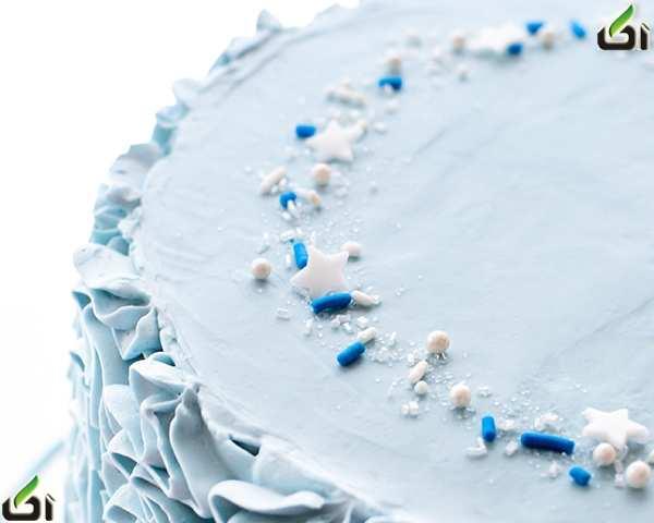 image آموزش مرحله به مرحله تزیین کیک جشن تولد دخترانه سیندرلا