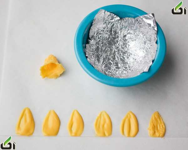 image, آموزش تصویری ساخت گل زیبا برای تزیین شیرینی و کیک