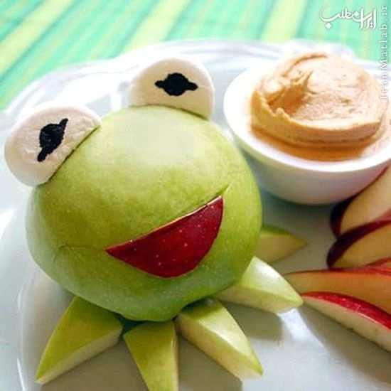 image ایده های جالب و خلاقانه تزیین غذا و میوه