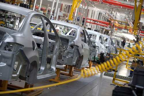 image گزارش تصویری دیدنی از مراحل ساخت خودرو پژو در کارخانه