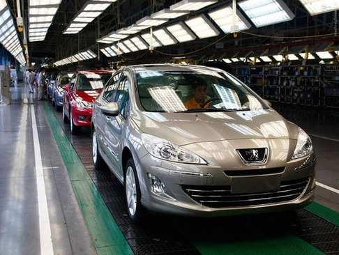 image, گزارش تصویری دیدنی از مراحل ساخت خودرو پژو در کارخانه
