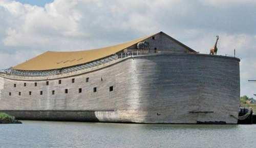 image, عکس های دیدنی از جدیدترین کشتی نوح ساخته شده