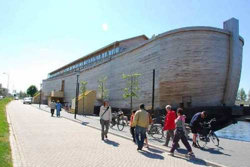 image عکس های دیدنی از جدیدترین کشتی نوح ساخته شده