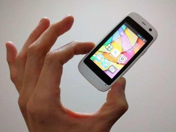 image, عکس و مشخصات کوچکترین موبایل دنیا