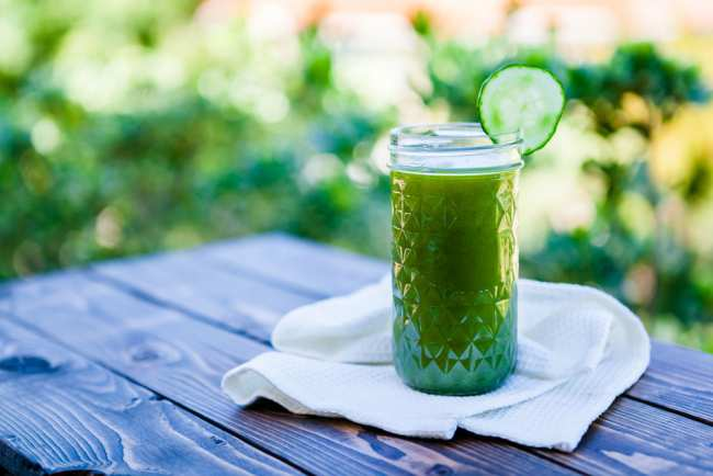 image خواص جالب نوشیدنی های سبز رنگ