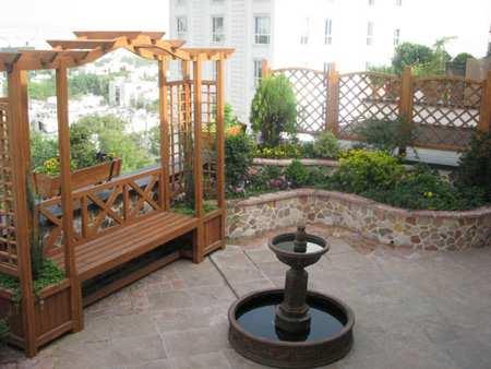 image چطور از آب نماها در دکوراسیون حیاط منزل استفاده کنیم