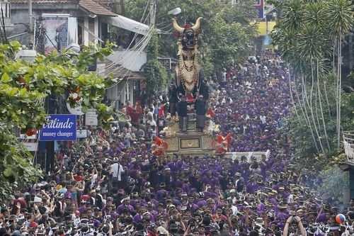 image, عکس دیدنی کارناوال خیابانی در بالی اندونزی