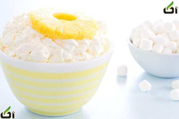 image, طرز تهیه دسر و شیک مجلسی با آناناس