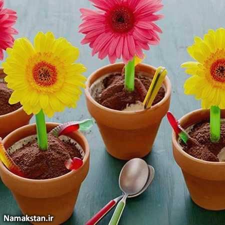 image, آموزش تهیه و تزیین بستنی به شکل بامزه برای بچه ها