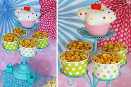 image چطور برای بچه ها خوراکی ها را تزیین کنیم با عکس