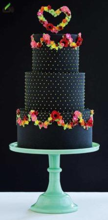 image, ایده های جالب و شیک برای طراحی کیک های عروسی و نامزدی