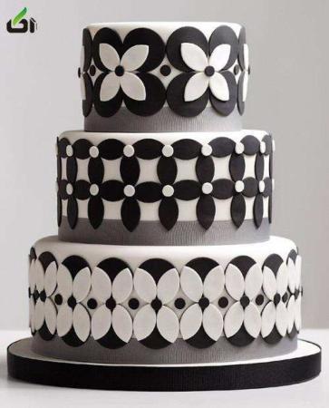image ایده های جالب و شیک برای طراحی کیک های عروسی و نامزدی