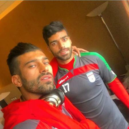 image عکس های خوشتیپ ترین فوتبالیست ایرانی رامین رضاییان