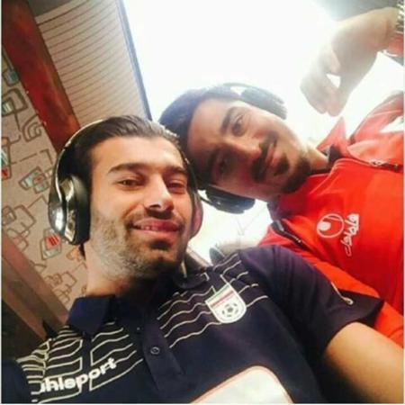 عکس, عکس های خوشتیپ ترین فوتبالیست ایرانی رامین رضاییان