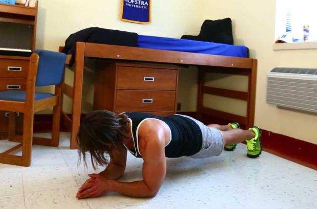 image, یک سری تمرینات ورزشی ساده قابل انجام در هر اتاقی