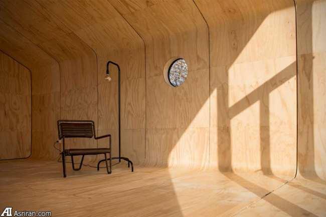image عکس های جالب از داخل و خارج یک خانه شیک قابل حمل