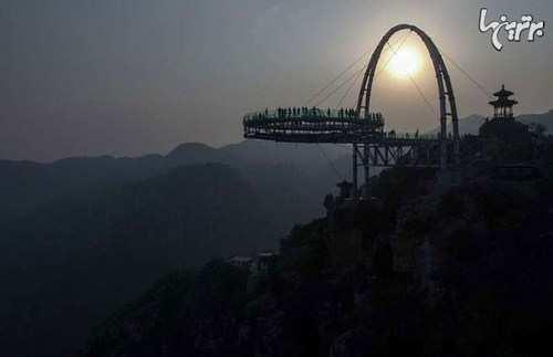 image گزارش تصویری از ترسناک ترین پل جهان در چین