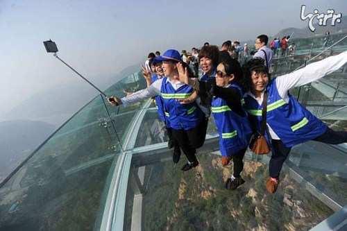 image, گزارش تصویری از ترسناک ترین پل جهان در چین