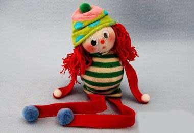 image, آموزش عکس به عکس ساخت عروسک با جوراب