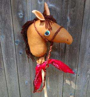 image آموزش ساخت کله اسب برای کاردستی یا اسباب بازی