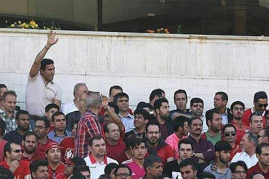 image عکس احمدرضا عابدزاده دروازه بان اسطوره ای فوتبال