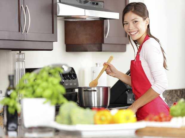 image ترفندهای جالب آشپزی برای تازه عروس ها