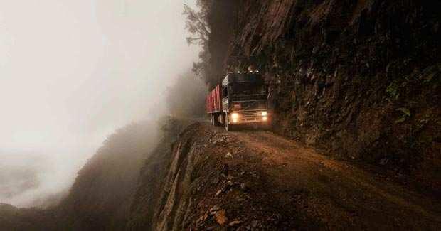 image عکس های دیدنی و شگفت انگیز از خطرناک ترین و باریک ترین جاده های دنیا
