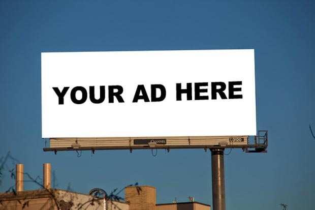 image بهترین جا در یک وبسایت برای قرار دادن تبلیغات