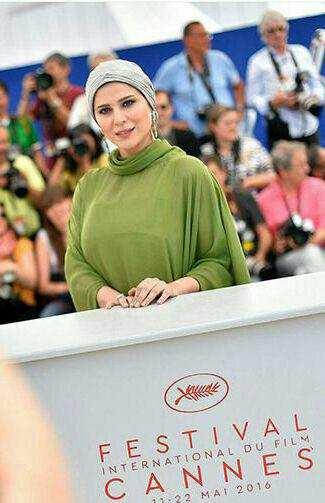 image عکس بانوی زیبای ایرانی در جشنواره کن سحر دولتشاهی