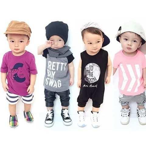 image شیک ترین مدل های لباس برای پسربچه های خیلی کوچک