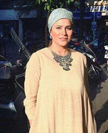 image باز هم لباسی زیبا و متفاوت از سحر دولتشاهی در کن