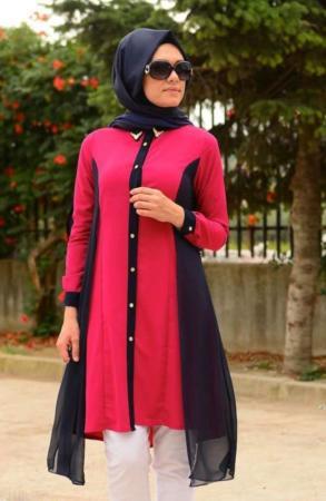 image مدل های شیک و زیبای مانتوی اسلامی با پوشش کامل