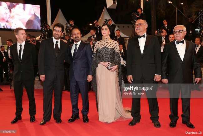 image عکس های درخشش زیباترین هنرپیشه ایرانی در جشنواره کن
