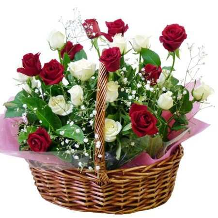 image, تصاویر کمیاب از سبدهای گل شیک در اینترنت