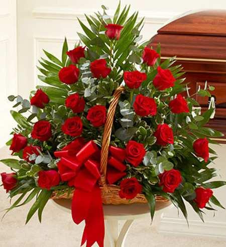 image تصاویر کمیاب از سبدهای گل شیک در اینترنت
