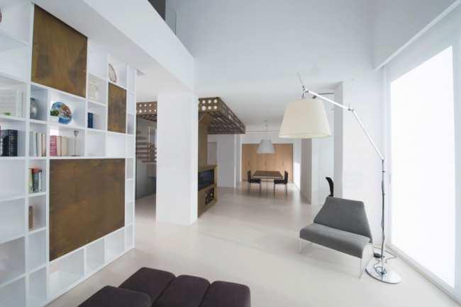 image, طراحی فوق العاده شیک و ساده یک آپارتمان مدرن با تمام جزئیات