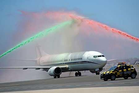 image تصویر جالب هواپیمای حامل تیم ملی فوتبال پرتغال