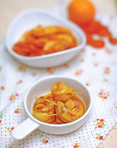 image آموزش پخت غذای خوشمزه رولت مرغ با عسل شیرین