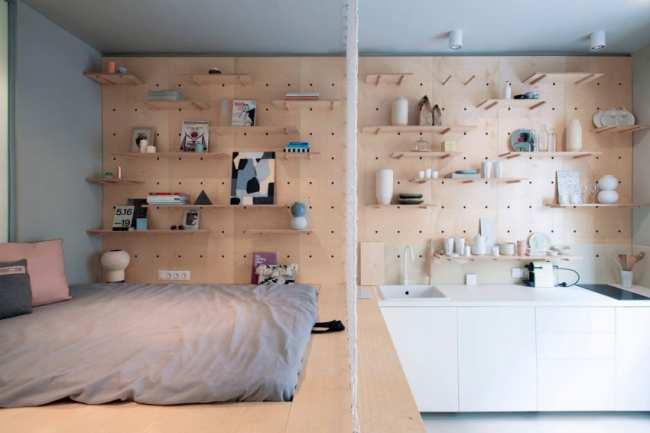 image ده ایده جالب تصویری برای چیدمان آپارتمان های خیلی کوچک