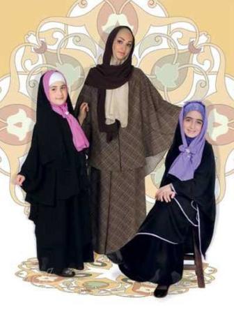 image آموزش دوخت چادر بسیار زیبا برای دختربچه ها با الگو