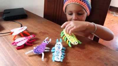 image, آموزش تصویری ساخت کاردستی حشرات زیبا برای بچه ها