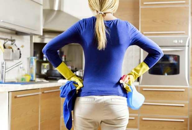 image چطور کار خانه انجام دهیم و لاغر شویم