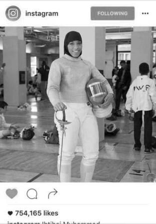 image عکس ورزشکار زن با حجاب کامل اسلامی در المپیک ریو
