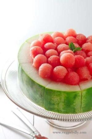 image, خلاقیت های دیدنی برای تزیین هندوانه در مهمانی ها