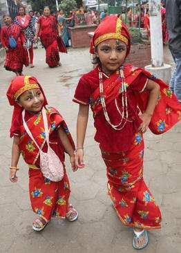 image, تصایر زیبای برگزاری جشنواره خیریه در کاتماندو نپال